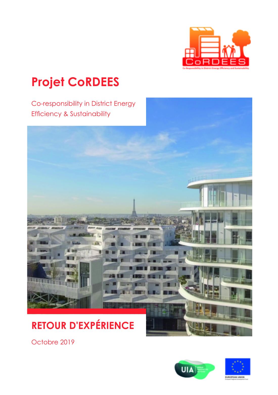 Retour d'expérience du projet CoRDEES